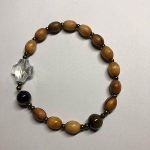📿Holy Land Olive Wood Rosary Bracelet 📿 by IHA